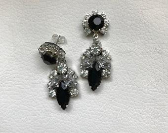 Earrings New York (black version)