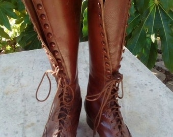 Ladies Edwardian Boots Originally for Country Wear