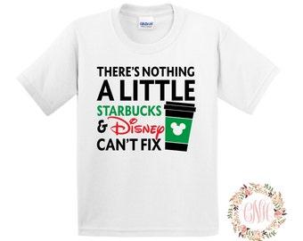 Starbucks and Disney Shirt