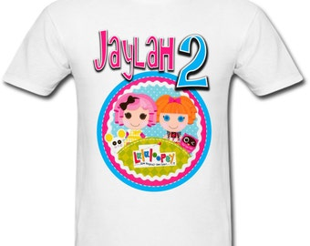 Personalized Lalaloopsy Birthday shirt for Family
