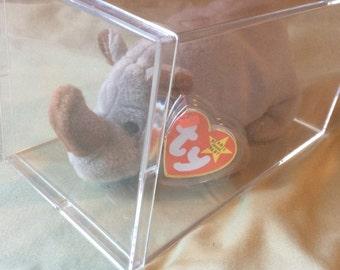 Beanie Babies - Spike the Rhinoceros - 5th Generation