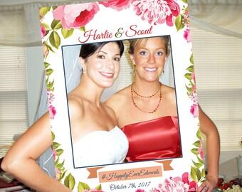 large bridal shower photo booth frame photo booth sign photo booth props photo booth props wedding bridal shower gift sign 1001182