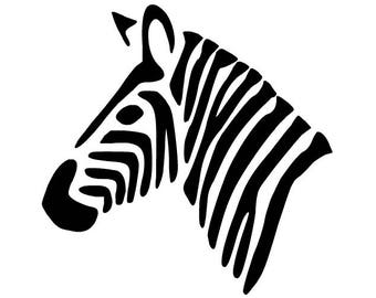 "Zebra 3"" Vinyl Sticker Decal - ehlers-danlos syndrome - EDS - Rare disease - EDS sticker - Zebra strong - Hypermobility spectrum disorder"