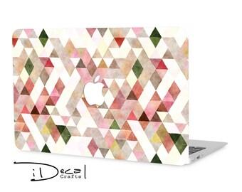 """triangle macbook decal macbook skin macbook sticker Macbook Air 11, Macbook Air 13 & Mac Pro 13 Retina, Macbook 12"""", Macbook Pro 15 Retina"""