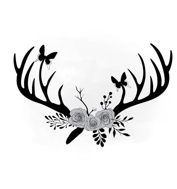 Deer antlers clipart - photo#49