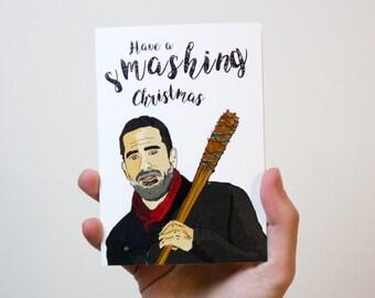 The Walking Dead  Christmas Card | Negan Card