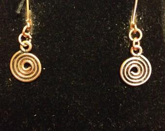 The Celtic Spiral Earrings