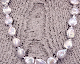Pearl Necklace Baroque necklace PKE102