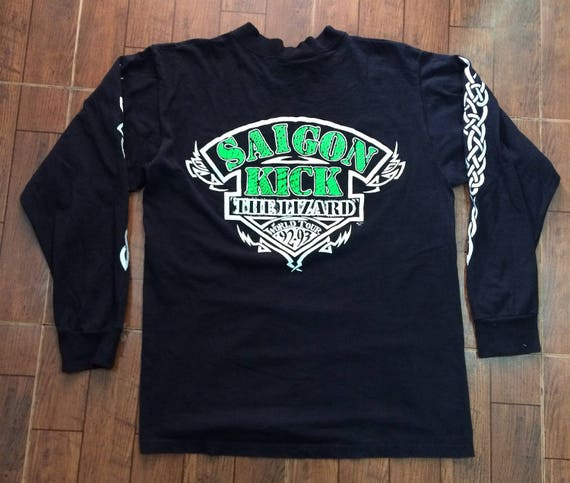 Rare Vintage 90s Saigon Kick The Lizard World Tour 92-93