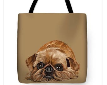 Brussels Griffon Tote