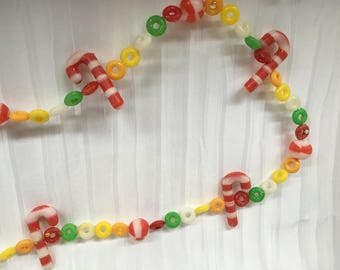 Vintage Plastic Iced 'Candy' Garlands