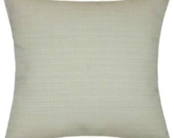 Sunbrella Dupione Pearl Indoor/Outdoor Pillow