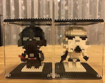 Stormtrooper and Darth Vader Nano Block StarWars Collection