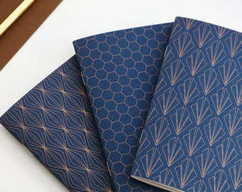 "1 pocket notebook ""Copper"" - 1 Pocket notebook ""Copper"" - art silkscreen printing"