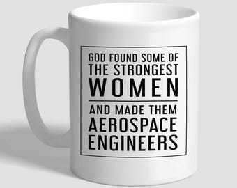 Aerospace Engineer, Engineer Gifts, Engineer Mug, Engineering Gift, Women Engineer