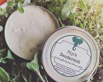 Organic chemical free deodorant (mispelled label in pic! Lol)