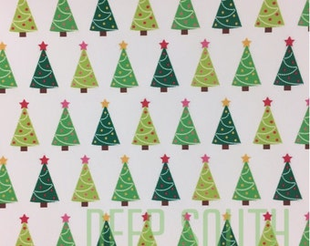 Christmas Trees, Christmas Print Vinyl, Adhesive Vinyl, Tree Christmas Vinyl, Permanent Vinyl, Colorful Vinyl, Oracal 651, 12 X 12