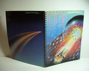 Journey Escape Record sleeve notebook