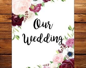 Catherine Wedding Planning Binder Floral
