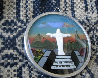 Statue of Jesus Christ in Rio de Janeiro, Brazil   Souvenir   free shipping in usa