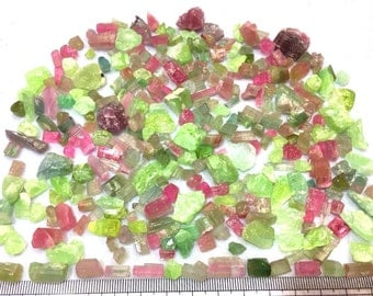 Wild Assortment of 710 CT's of Candy Colored Tourmaline Shards - From Paje Afghanistan