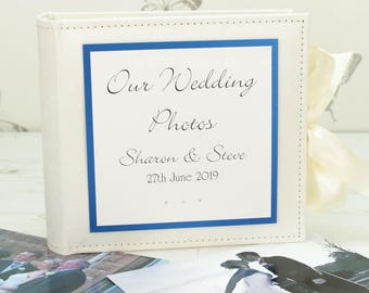Personalised Classic Wedding Photo Album