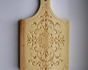 """Carving board cutting """"Flower 1"""""""