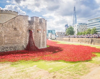 London Fine Print: Blood Swept Lands and Seas of Red at the Tower of London 1.