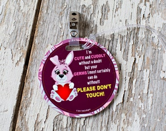 Stroller Tag, Baby Car Seat Sign, Newborn/Preemie Germ Stopper Sign, Don't Touch Baby Sign, Baby Shower Gift