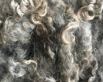SALE! - Raw gray mohair