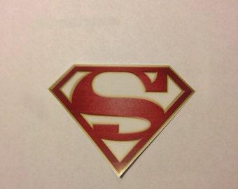 Clear deo alex danvers badge sticker for Tattoo shops gainesville ga
