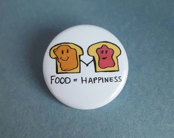 Food equals Happiness