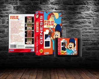 Fix it Felix Jr - Famous Arcade Action for your Home Console - GEN - I'm Gonna Wreck it!