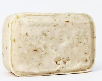 Oats and coconut handmade artsian organic natural soap