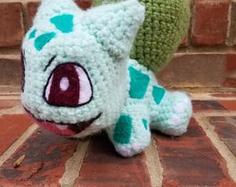 Crochet Bulbasaur Plush