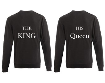 The King & His Queen Sweater