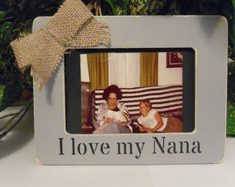 Nana photo frame, Keepsake for Nana,  gift for nana, Nana picture frame, Nana gift,  Grandma frame, Grandma Gift, Mom photo frame