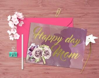 Happy day Mom