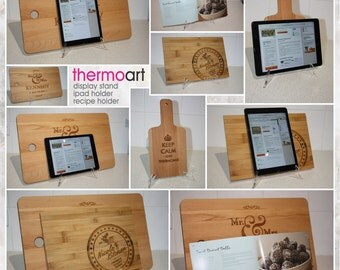 Chopping Board Display Stand/Ipad Holder/Recipe Holder