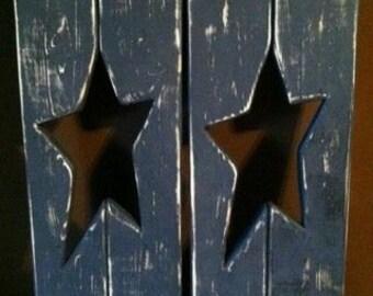 primitve star shutters