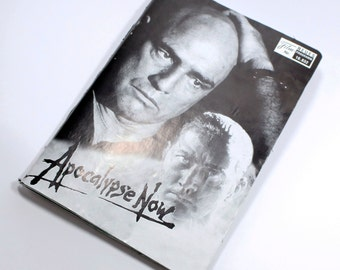 vintage sketchbook bullet journal | film programme | Apocalypse Now for movie and film lovers hippies | handmade
