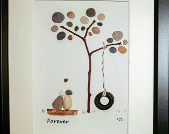 Forever - Pebble Art