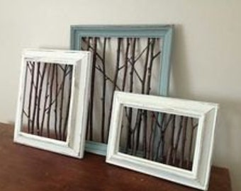 Enchanted Forest Recycled Frames