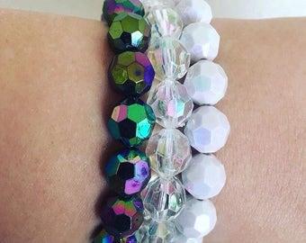 Chunky unicorn bracelets