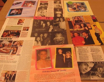 BEVERLEY MITCHELL  7TH heaven star clippings  #0330