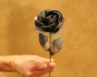 Steel Rose - Metal Art