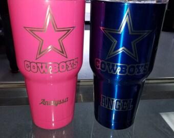 Yeti Tumbler Cups Auburn University Au Inspired Yeti