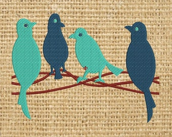 Swing Birds Lace Machine Embroidery design, INSTANT DOWNLOAD FILE,Border,lace Design,paadar club