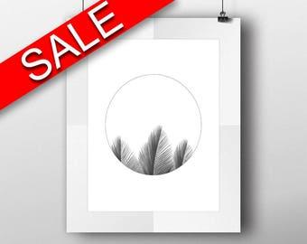 Wall Art Palm Leaves Digital Print Palm Leaves Poster Art Palm Leaves Wall Art Print Palm Leaves Minimalist Art Palm Leaves Minimalist Print