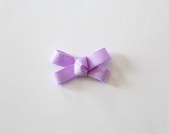 Poppy, Lavender Small Cosgrain Ribbon Bow